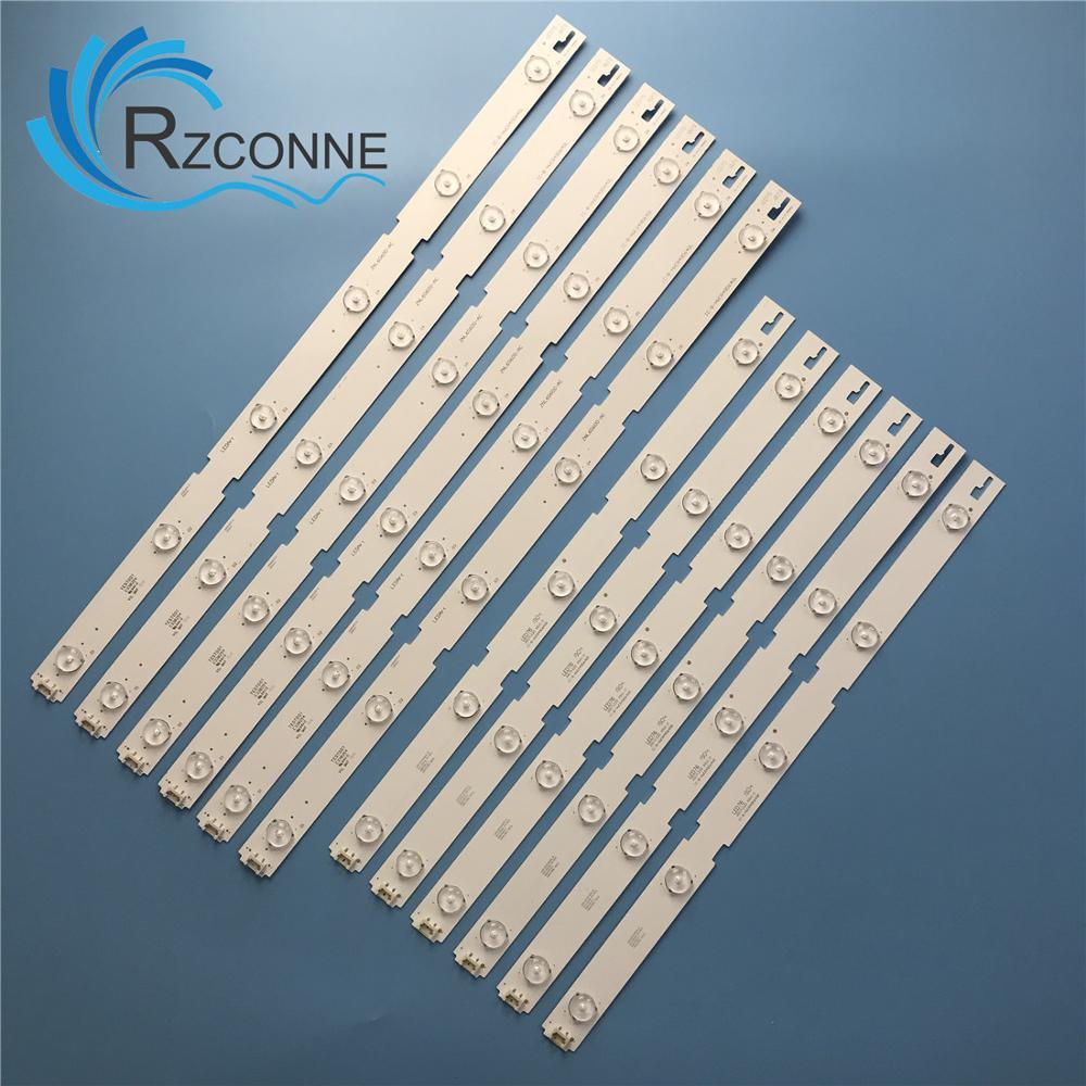 Led-hintergrundbeleuchtung streifen Für ZLN60600-AC IC-B-HWCR49D640L IC-B-HWCR49D640R 49LENZA6627