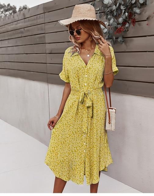Vestido Feminino Estampa Floral 79