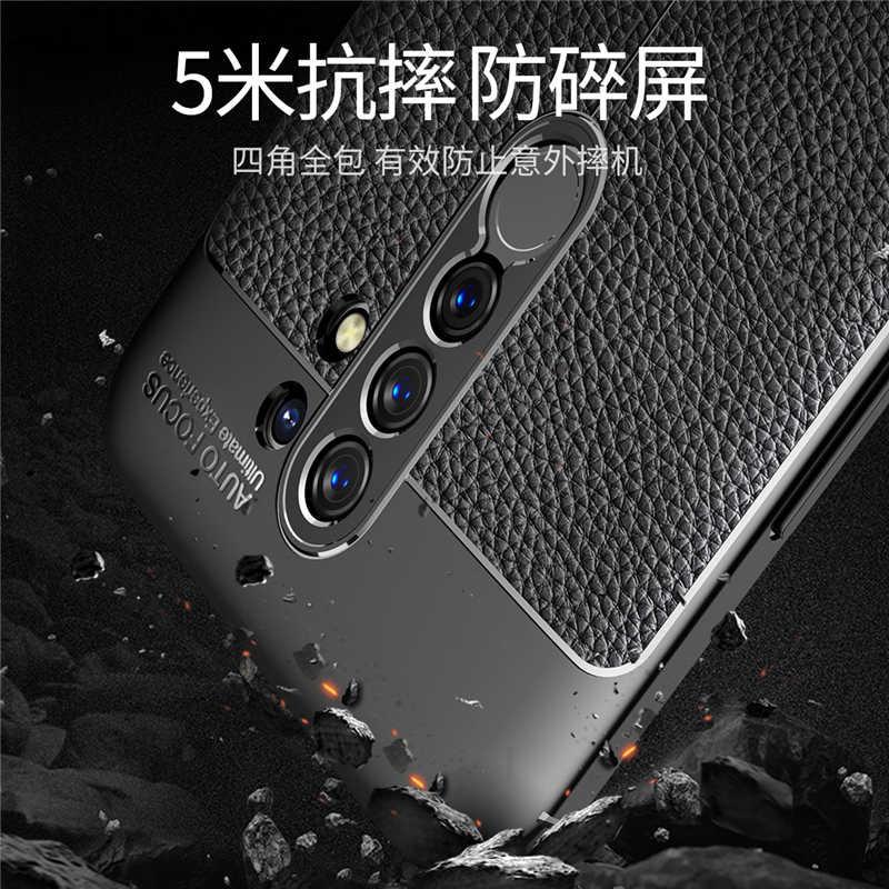 Pour Xiaomi Redmi 9 Pro Note 9S housse de protection Poco X3 Redmi Note 8 Pro 8T 9A 9C étui de protection en cuir souple en silicone pour téléphone Redmi Note 9