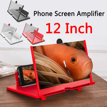 Projector Magnifier Mobile-Phone-Screen Stand-Bracket Enlarger Smartphone HD for Movie