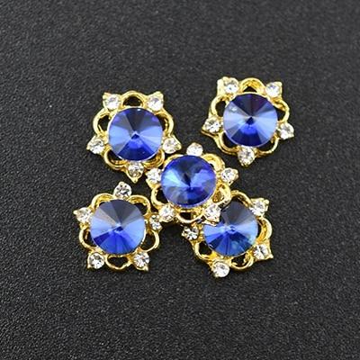pregos de cristal diamantes pedra strass jóias accessoires