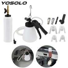 1 Set Car Brake Fluid Replacement Tool Brake Fluid Drained Bleeder Large Capacity Car Repair Tools Oil Change Equipment Kit