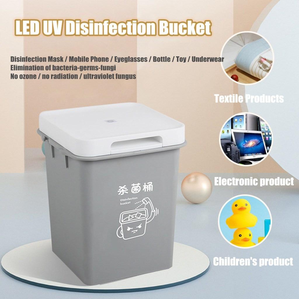 Multi-functional USB UV Disinfection Sterilize Mask Barrel Keg Bucket Protection Goods Disinfection Стерилизационная коробка
