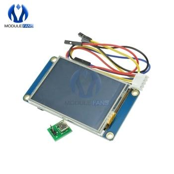 "English Nextion 2.4"" TFT 320 x 240 320x240 320*240 Resistive Touch Screen USART UART HMI Serial LCD Module Display"