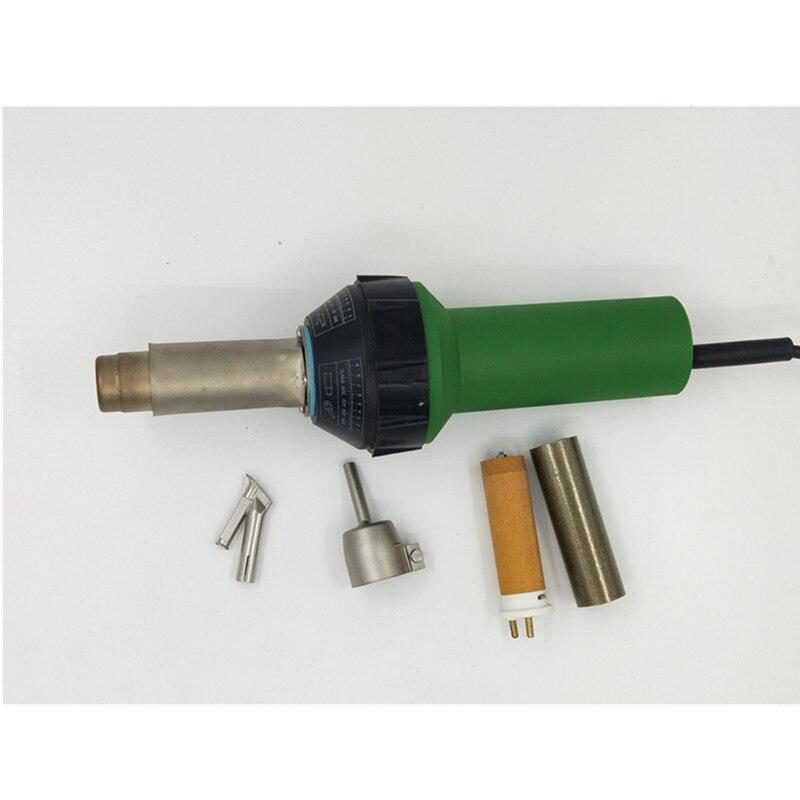 Пластиковый пистолет для сварки горячим воздухом с нагревательным Elemets и 2 шт. насадками, тепловая пушка для пола, сварочные инструменты для пайки теплового инструмента - 2