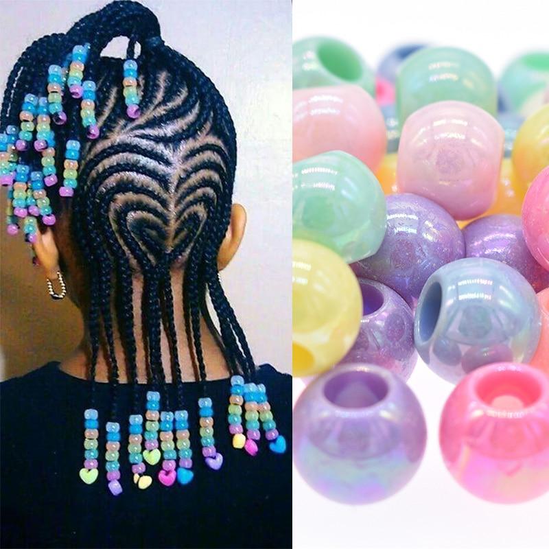 50 Hair Braid Ring Cuff Clips Dreadlock Beads For DIY Hair Extension