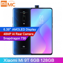 Global Version Xiaomi Mi 9T 6GB 128GB 48MP AI Rear Pop-up Camera Mobile Phone Snapdragon730 6 39 #8243 AMOLED Display MIUI 4000mAh cheap Not Detachable Android Fingerprint Recognition Up To 150 Hours Quick Charge 4 0 Smart Phones Game Turbo/GPU Turbo Gorilla Glass