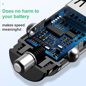 Image 5 - Baseus Quick Charge 4,0 3,0 USB Auto Ladegerät Für iPhone Xiaomi Huawei QC 4,0 QC 3,0 QC Auto Typ C PD Schnelle Auto Handy Ladegerät