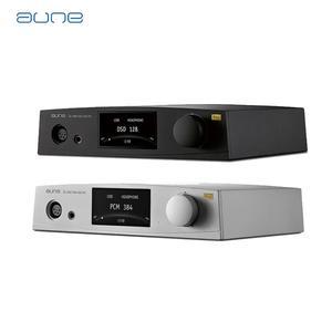 Image 2 - Aune s6 pro equilíbrio amplificador de fone de ouvido usb ac coaxial óptico rca xlr entrada dac dsd128 amplificador apm
