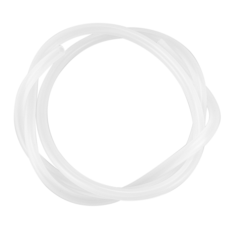 5mm ID x 7mm OD Food Grade Flexible Hose Silicone Tubing Tube 1M 3.3ft image