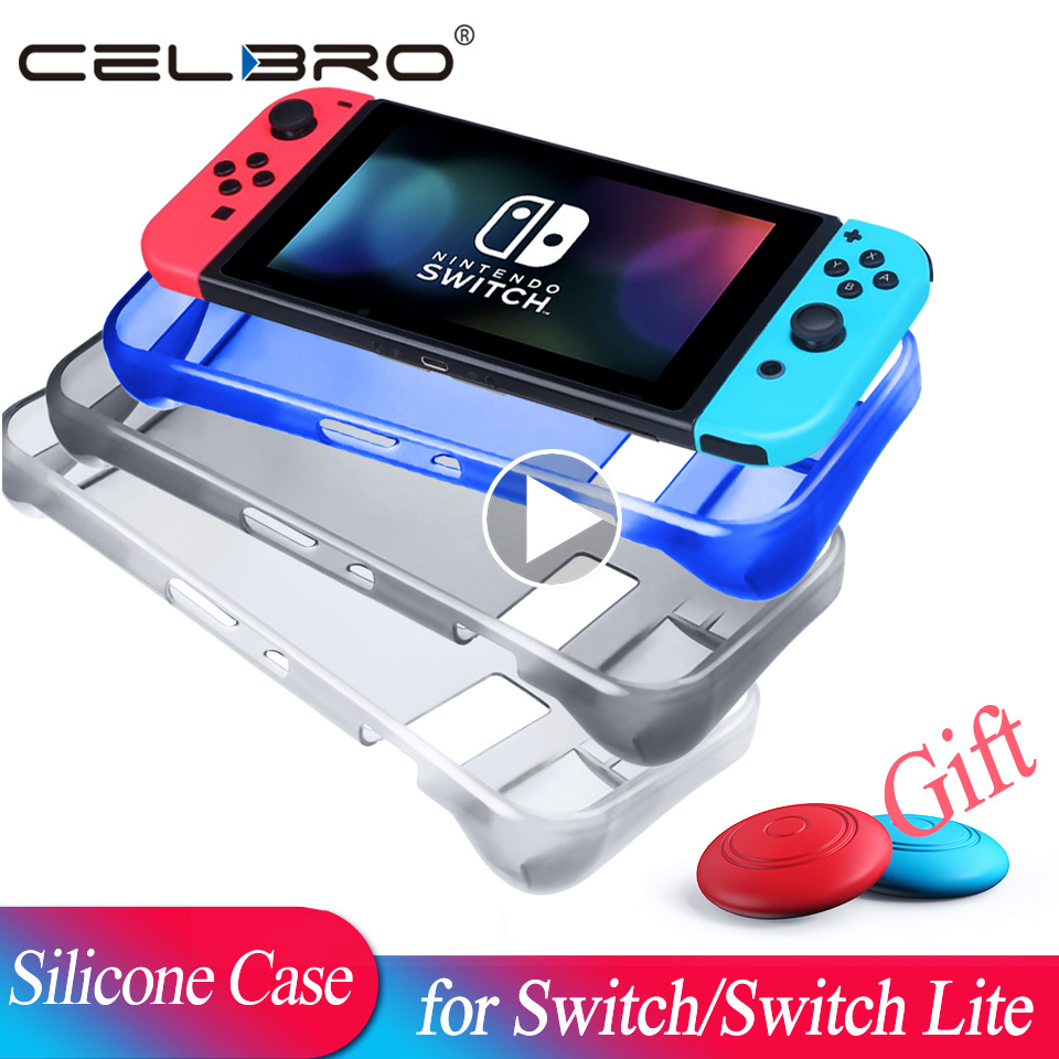 Silicone Case for Nintend Switch Lite Case Funda for Switch Lite Cover Coque for Nintendos NS Lite Protector Shell Accessories(China)