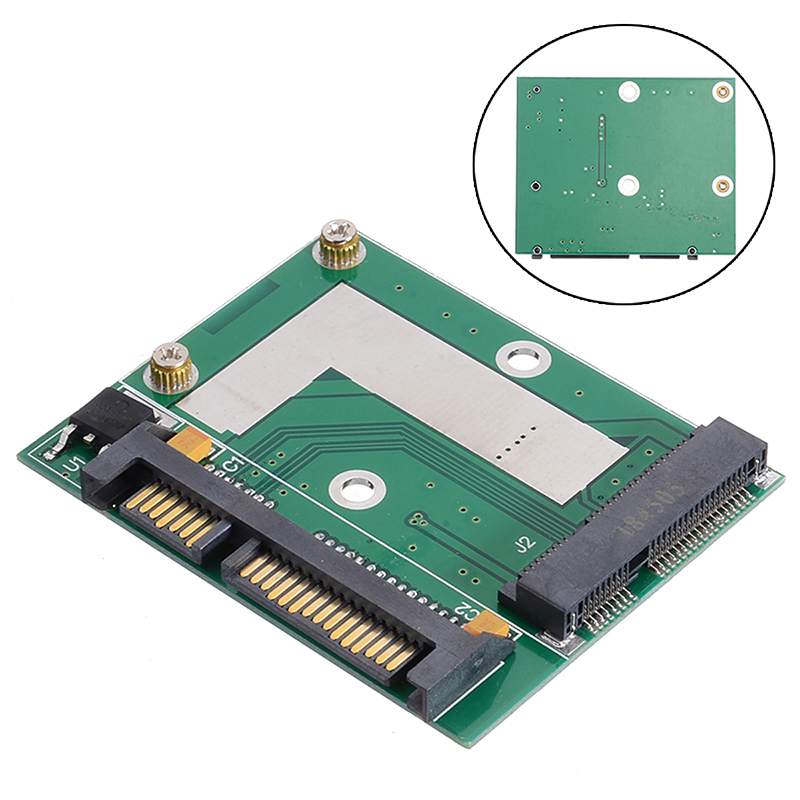 Universal <font><b>mSATA</b></font> SSD To 2.5 Inch <font><b>SATA</b></font> 6.0 Gps <font><b>Adapter</b></font> Converter Card Module Board For Computer PC Desktop image