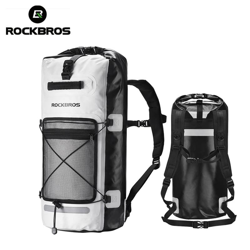 ROCKBROS 28L Rainproof Swmming Bags Big Capacity Bag Foldable Outdoor Storage Sport Camping Waterproof Package Pannier Bags