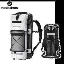 ROCKBROS 28L непромокаемые мешки для пеленания, Большая вместительная сумка, складная сумка для наружного хранения, спортивная сумка для кемпинг...