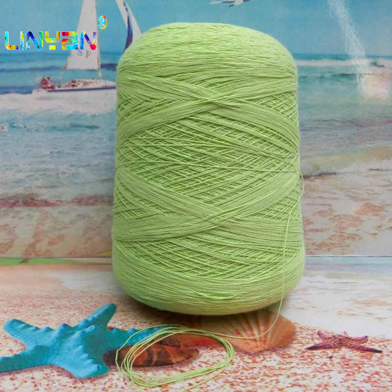 59% flax 41% cotton 500g thread yarn for knitting Linen-cotton blended knitting line yarn for crochet shawl t50