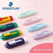 Staedtler – gommes à crayon rétractable 525 PS1S, gommes à crayon multicolores, gommes écologiques couleur Macaron Pastel, 1 pièce