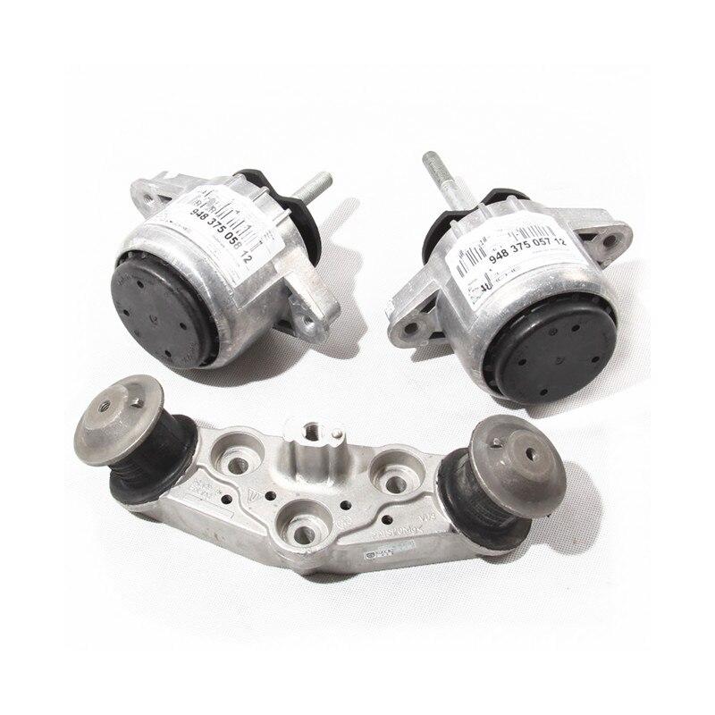 Fit For Porsche Panamera Engine Motor Mount + Automatic Transmission Mount 94837506100 94837506200 97037511801|Motor Mounts| |  - title=