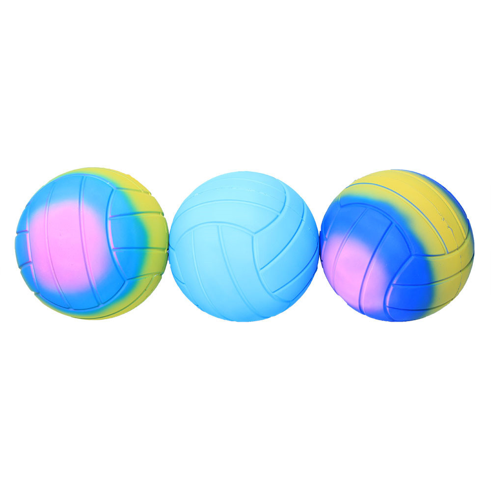 Kid Volleyball Anti Stress Toy Slow Rising Ball Funny Toys Squeeze Toy Stress Relief For Children Venting Large Volleyball L1216