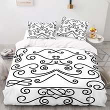 Duvet-Cover-Set Size-Bedding King with Pillowcase 173218 American-Style 220260 Lrregular-Pattern