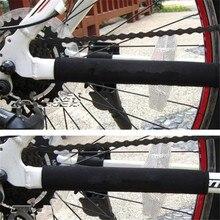 2 pçs protetor de corrente de bicicleta ciclismo quadro protetor de corrente mtb bicicleta guarda corrente bicicleta guarda acessórios