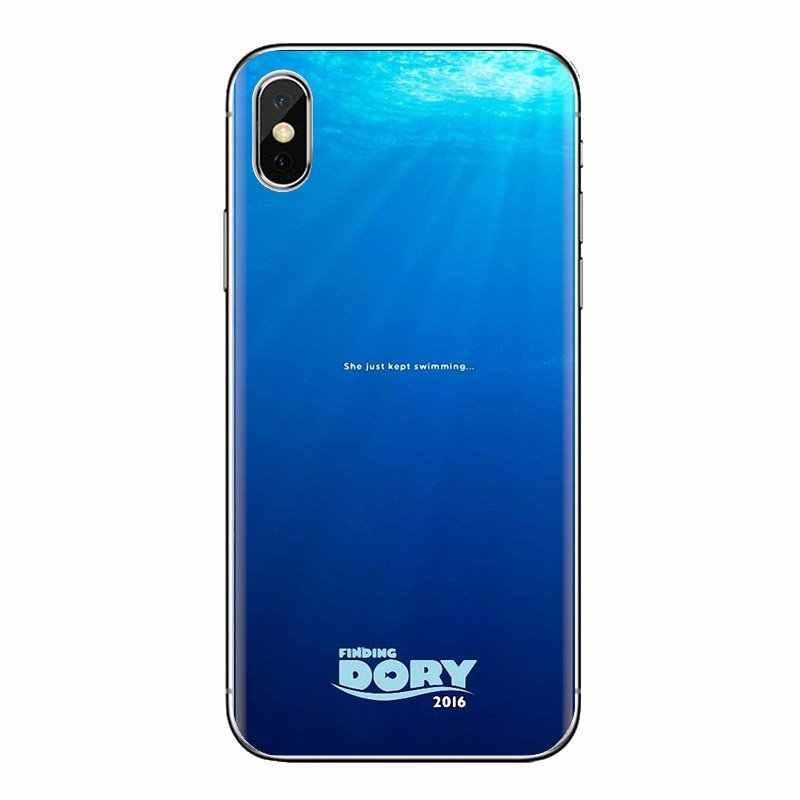 Para Sony Xperia Z Z1 Z2 Z3 Z5 compacto M2 M4 M5 C4 E3 T3 XA Huawei Mate 7 8 y3II Finding Dory 2016 película póster teléfono cubierta