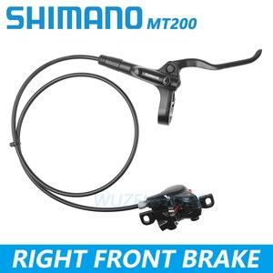Image 3 - Shimano BR BL MT200 Bicycle Brake MTB Brake Hydraulic Disc Brake 800/900/1350/1450/1550mm Mountain Clamp Brakes upgraded MT315