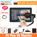 Feelworld Camera Monitor F6 Plus 5.5 Inch 3D Lut Touch Screen 4K IPS FHD 1920X1080 Monitor for DSLR Camera