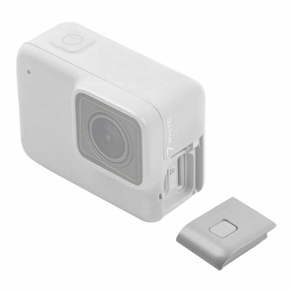 Камера боковая крышка двери Крышка для GoPro HERO 7 белая камера USB-C и микро-HDMI порты Анти-пыль защитный чехол Крышка запасные части