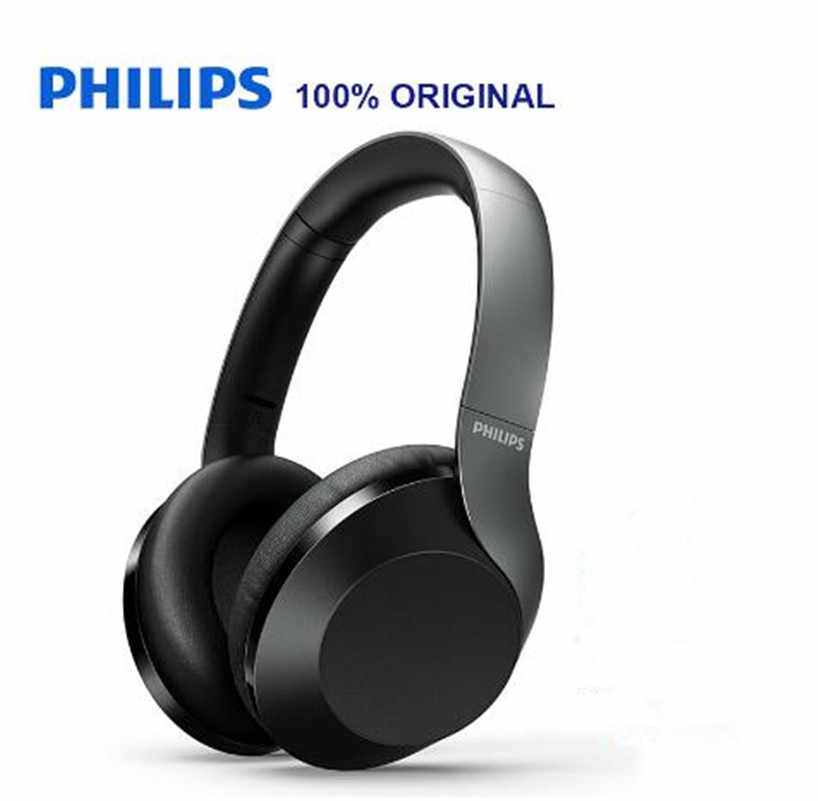 The New Philips Hifi Taph 805 Hi Res Bluetooth 5 0 Headset Actively Cancels The Microphone Noise Support Folding Official Test Aliexpress