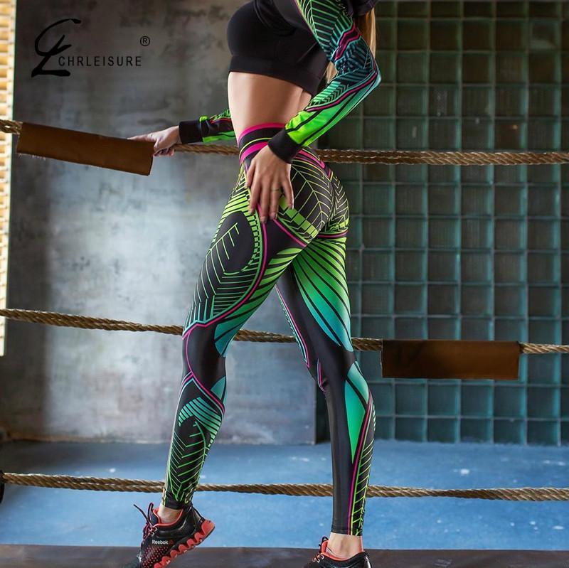 Fashion Printing Legging Women High Waist Workout Leggings Push Up Women Fitness Legging