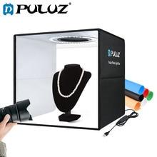 PULUZ 30 см светильник коробка складная мини фотостудия светодиодный светильник коробка фотографии фотобокс для студийной съемки комплект & 6 ...