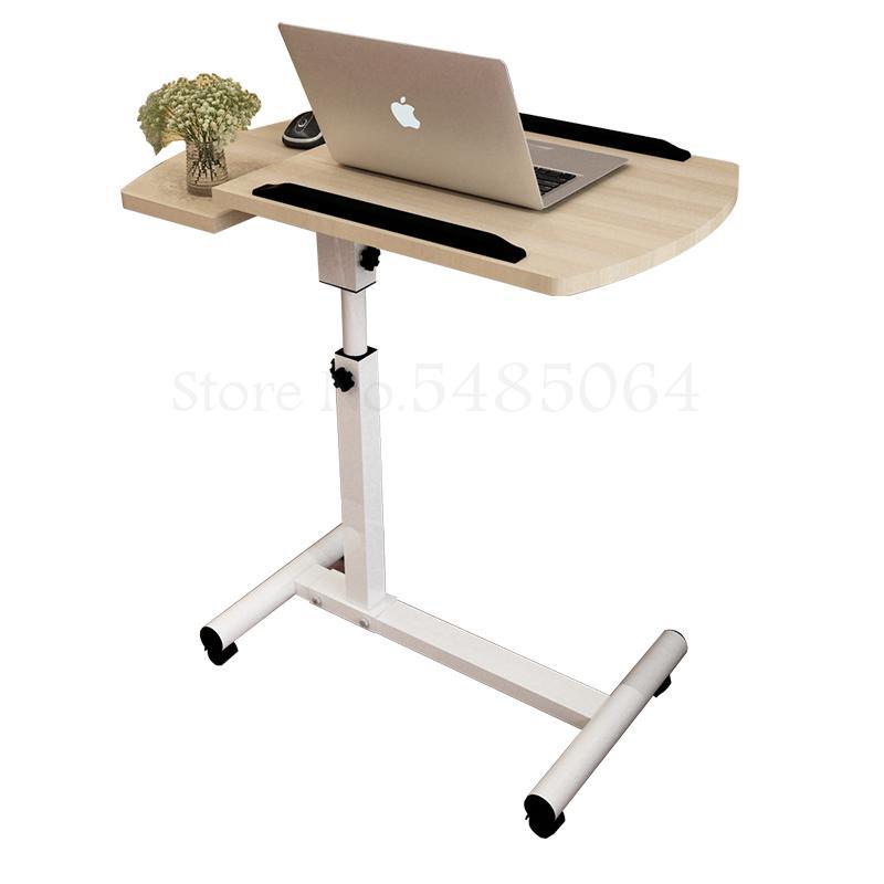 Стол для ноутбука, кровать для обучения, домашний подъемный складной мобильный прикроватный столик, простой
