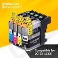 Новые совместимые чернильные картриджи для принтера Brother LC123 MFC J4410DW J4510DW J870DW DCP J4110DW J132W J152W J552DW LC123 XL