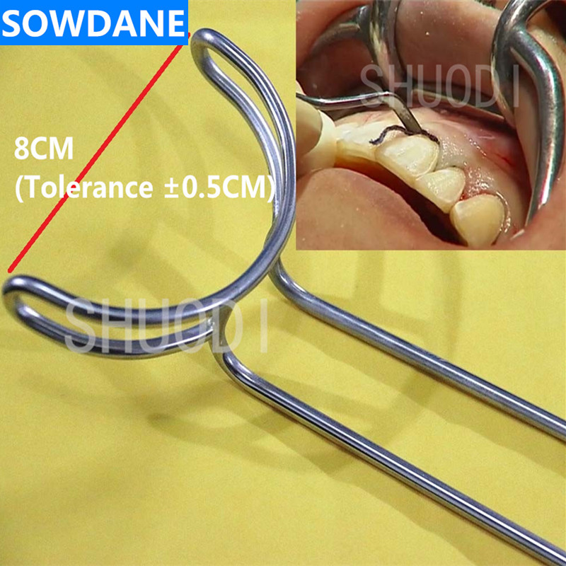 Dental Large Mouth Gag Opener Teeth Retractor 8cm Tooth Whitening Tool Oral Care