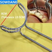 Зубной имплантат большой рот кляп открывалка зубы втягиватель стоматолога хирургический инструмент 8 см отбеливание зубов Инструмент Уход за полостью рта