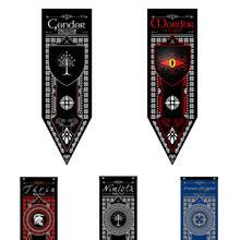 Современный Декор для дома флаги темной башни Белое Древо Гондора