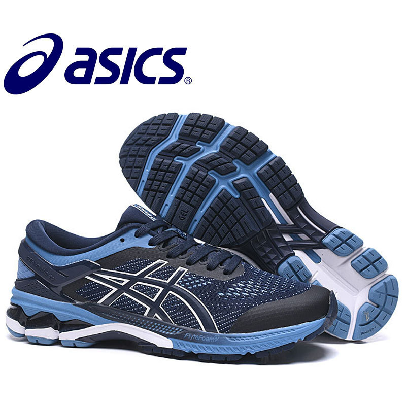 ASICS Men's Gel-Kayano 26 Running Shoes 2019 New Original ASICS GEL-KAYANO 26 Running Shoes Men's Sports Shoes