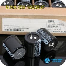 4PCS/10PCS Import ELNA 50V 10000UF 35X40 size LAH series Audio amplifier dedicated capacitor free shipping
