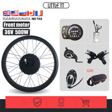 _ Комплект для переоборудования 20/26 дюймов 36 в Вт переднее колесо двигателя для велосипеда на толстых покрышках, 4 цвета, электрическое колес...
