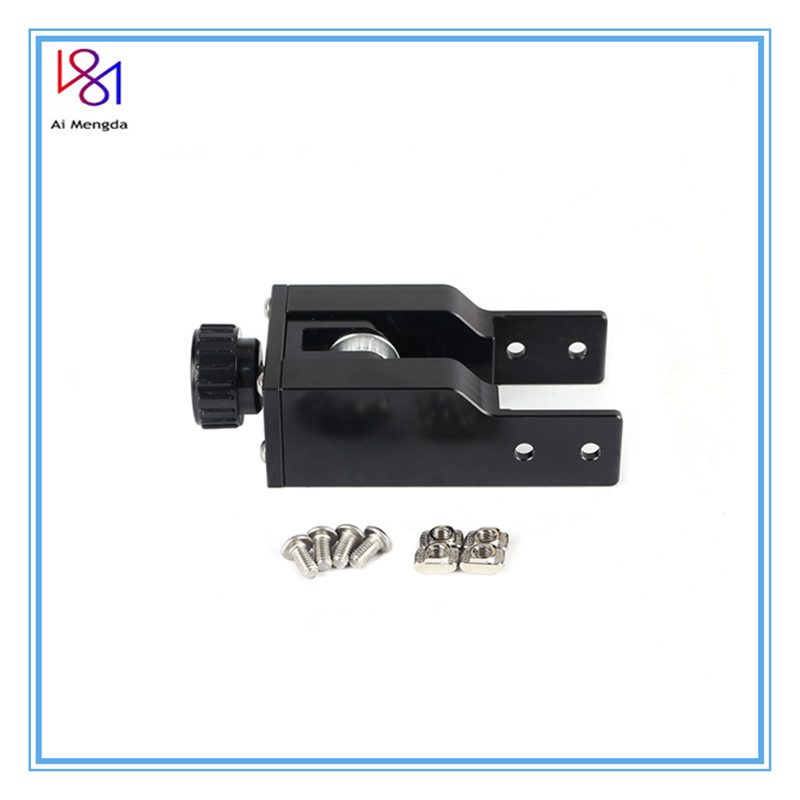 Belt Stretch CR10 Straighten Tensioner Black 2040 Profile Y-axis Synchronous For <font><b>Creality</b></font> CR-10 <font><b>CR10S</b></font> 3D Printer Parts image