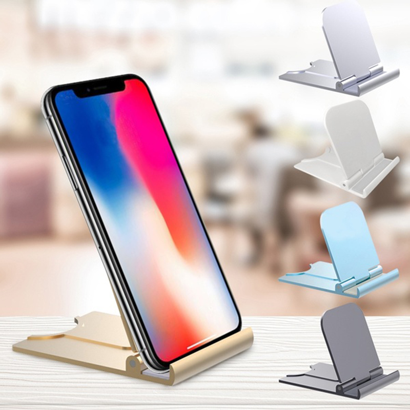 Universal Phone Holder Stand Base For IPhone 7 8 X For Samsung For Xiaomi Smartphone Candy Color Mobile Phone Bracket For Huawei