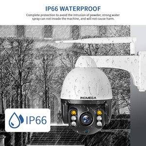 Image 5 - كاميرا INQMEGA Cloud 1080P للأماكن الخارجية PTZ IP مزودة بخاصية WIFI كاميرا تتبع بسرعة مزودة بقبة وتكبير رقمي 4X كاميرا مراقبة 2MP Onvif IR CCTV
