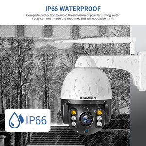 Image 5 - Inqmegaクラウド 1080 1080p屋外ptz ipカメラの無線lanドーム自動追尾カメラ 4Xデジタルズーム 2MP onvif ir cctvセキュリティカメラ