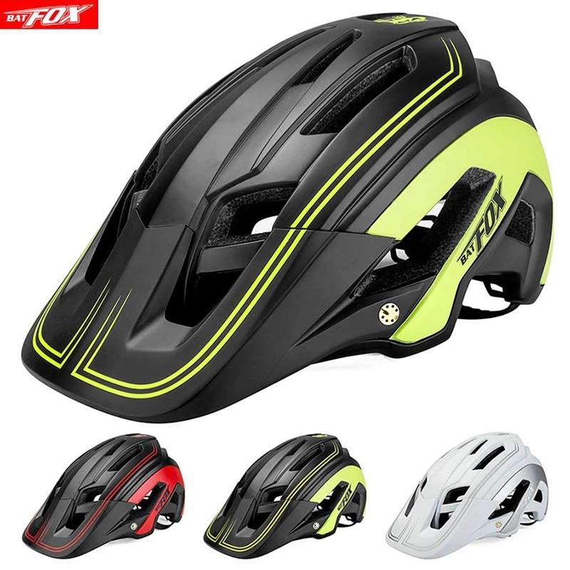 Breathable Lightweight Mountain /& Road Bike One-Piece Riding Safety Helmet for Adult Men//Women Adjustable 58-60cm Calmson for BATFOX Bicycle Helmet