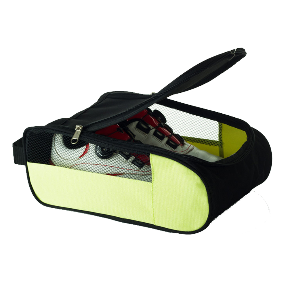 Durable Storage Case Mesh Hole Double Zippers Portable Waterproof Sports Home Travel Dust Proof House Golf Shoes Bags Pouch