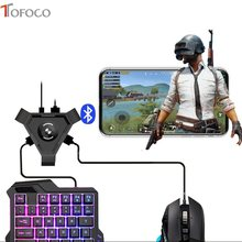 Bluetooth Pubg Mobile Game Controller Gamepad Gaming Keyboard Mouse Converter Trigger Shooter Joystick untuk Permainan Accesorios(China)