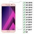 Защитное закаленное стекло 9D для Samsung Galaxy A3 A5 A7 J3 J5 J7 2017 2016 S7