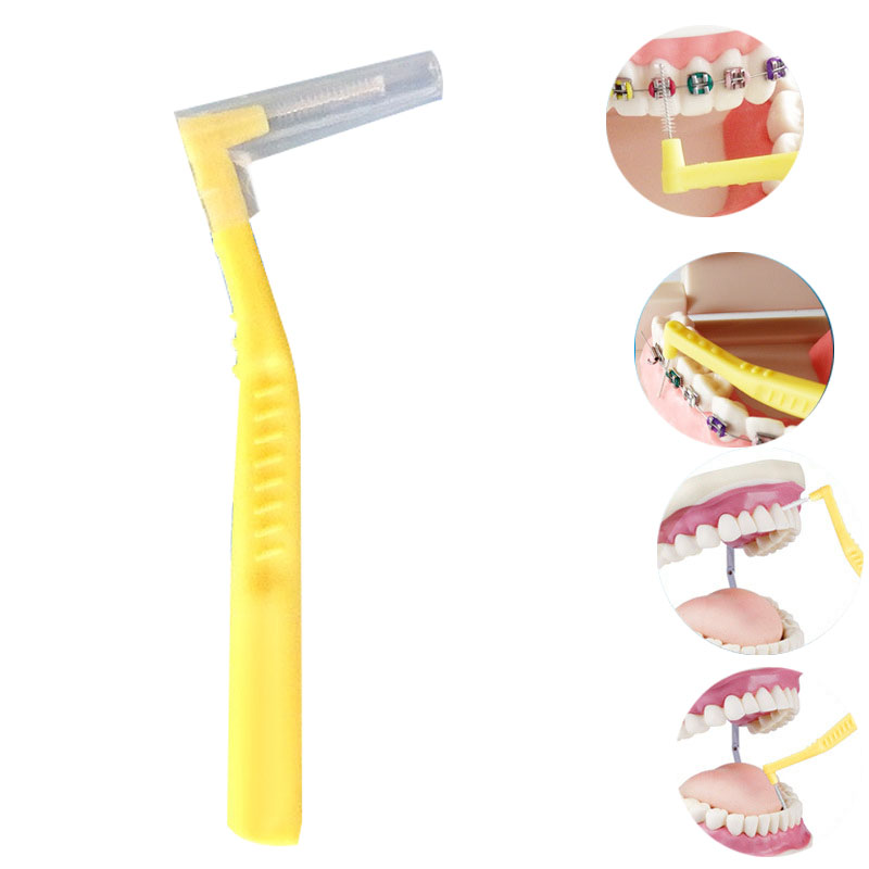 picareta dente ortodôntico palito toothbru
