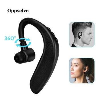 Wireless Bluetooth Earphone Light Smart Touch HD Calls Noise Cancelling Single Earbuds Sports Earhook Handsfree HD Calls Driving фото