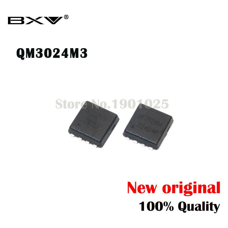 10pcs QM3024M3 QM3024M M3024M 3MM*3MM MOSFET QFN-8 3024M3 New Original